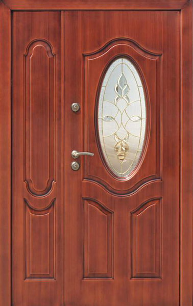 простые широкие стальные двери для магазинов