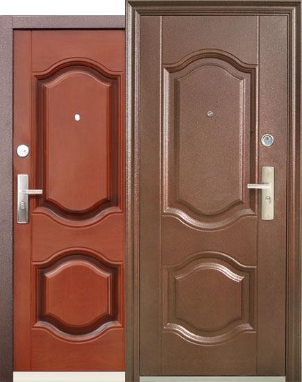 двери металлические 90 см